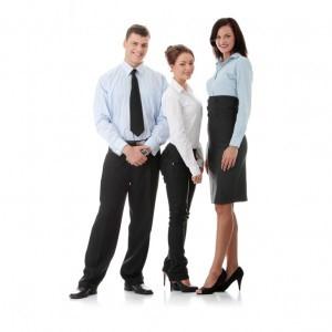 Corporate trio