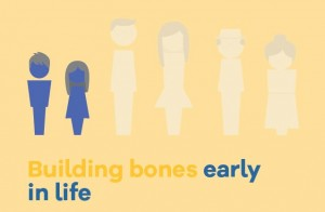 Building bones early in life
