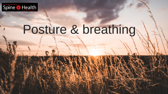 Posture and breathing